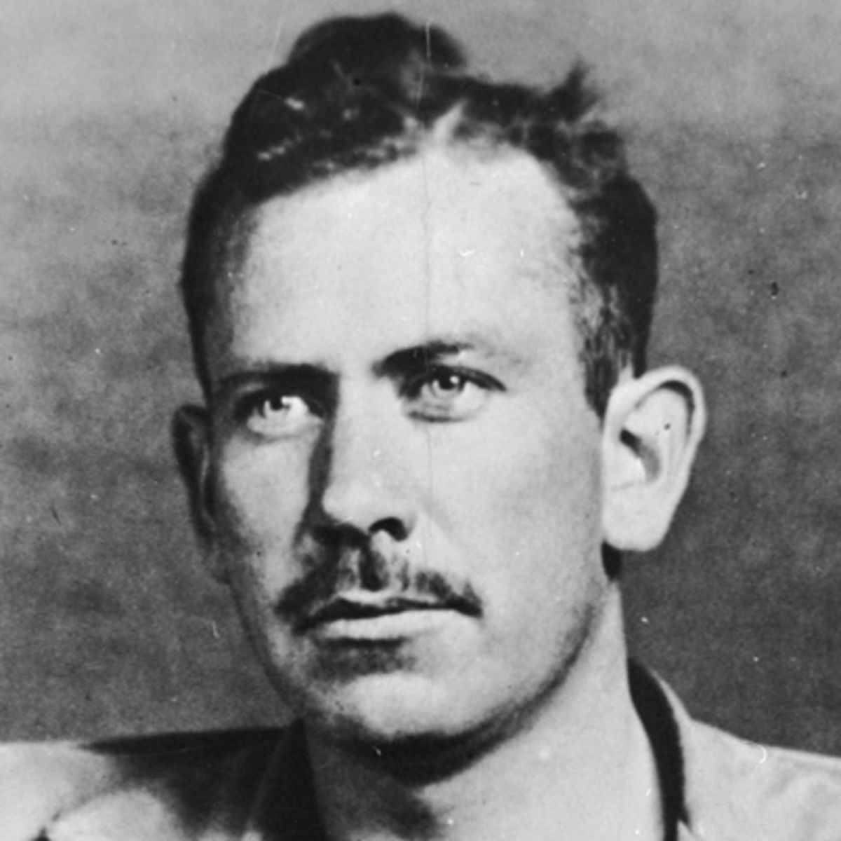 portrait of Steinbeck